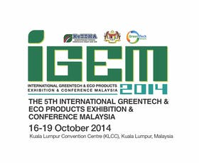 The 5th International Greentech Eco-Products Exhibition & Conference (IGEM 2014)