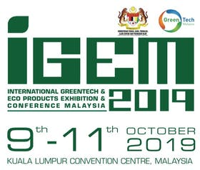 The International Green Technology & Eco Products Exhibition & Conference Malaysia 2019 (IGEM)