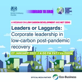Leaders or Laggards? Corporate leadership in low-carbon post-pandemic recovery [Virtual]