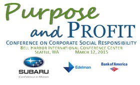 Purpose and Profit Conference on Corporate Social Responsibility