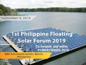 1st Philippine Floating Solar Forum 2019