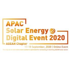 APAC solar energy digital event 2020 - Asean chapter