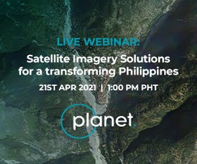 Satellite imagery solutions for a transforming Philippines