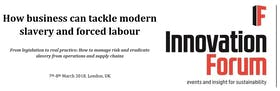 How business can tackle modern slavery and forced labour