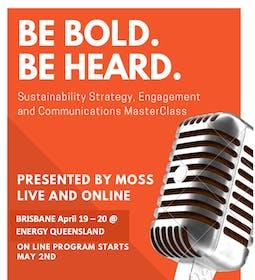 SUSTAINABILITY Strategy, Engagement and Communications MasterClass