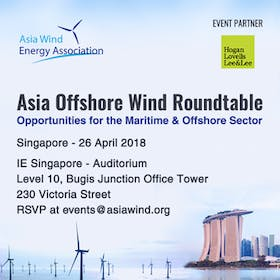 Asia Offshore Wind Roundtable (Singapore - 26 April 2018)