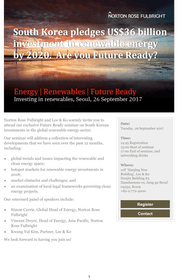 Invitation | Global Renewables | Are you Future Ready?