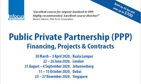 Public Private Partnership (PPP): Finance, Projects & Contracts (London)