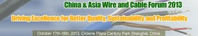 China & Asia Wire and Cable Forum 2013