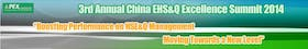 3rd Annual China EHS&Q Excellence Summit 2014