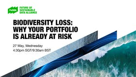 Biodiversity loss - why your investment portfolio is at risk
