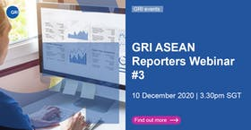 GRI ASEAN Reporters Webinar: Reflecting on 2020 - What we have learned for 2021