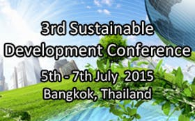 SDC 2015 - Sustainable Development Conference