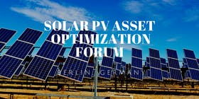 Solar PV Asset Optimization Forum
