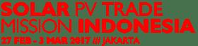 Solar PV Trade Mission Indonesia & The Solar Future Indonesia