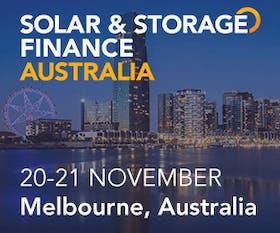 Solar & Storage Finance Australia 2018