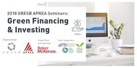 GRESB-APREA: Green Real Estate Financing & Investing Seminar- Singapore