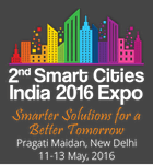 2nd Smart Cities India 2016 Exhibition and Conference