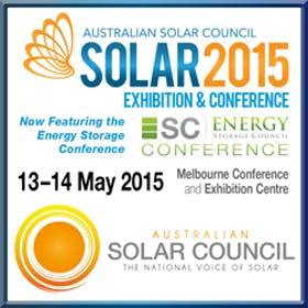 Solar 2015 Exhibition and Conference