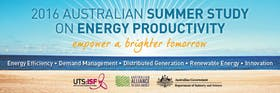 2016 Australian Summer Study on Energy Productivity