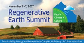 Regenerative Earth Summit: Food + Climate + Culture