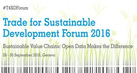 Trade for Sustainable Development Forum 2016