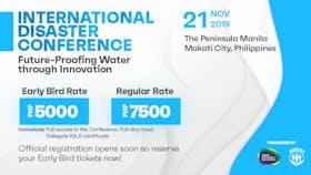International Disaster Conference 2019