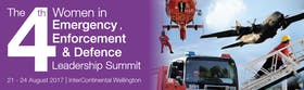 The 4th Annual Women in Emergency Services, Enforcement and Defence Leadership Summit 2017