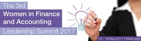 The 3rd Women in Finance and Accounting Leadership Summit 2017