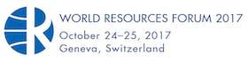 World Resources Forum 2017