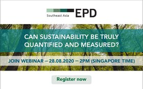 """Can sustainability be truly quantified and measured?"" Webinar"
