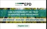 """""""Can sustainability be truly quantified and measured?"""" Webinar"""