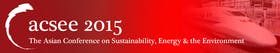 The Fifth Asian Conference on Sustainability, Energy & the Environment 2015