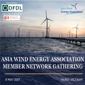 Asia Wind Energy Association - Industry Network Event (Hanoi - 8 May 2017)