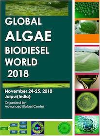 GLobal  Algae Biodiesel World 2018
