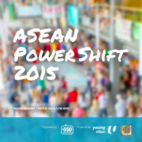 ASEAN Power Shift 2015 by 350.Org