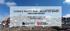 China's Waste Ban - Boon or Bane? Green Drinks April Forum