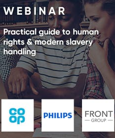 Free Webinar: Practical guide to human rights and modern slavery handling