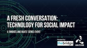 A Fresh Conversation: Technology for Social Impact