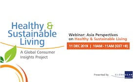 Healthy and Sustainable Living – Asia Perspective