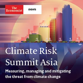 Climate risk summit Asia