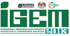 IGEM2013 - The 4th International Greentech & Eco Products Exhibition & Conference Malaysia