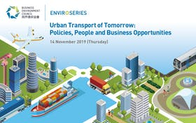 BEC EnviroSeries Conference: Urban Transport of Tomorrow: Policies, People and Business Opportunities