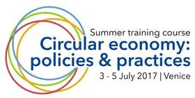 Summer training course on circular economy: policies and practices