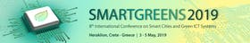 8th International Conference on Smart Cities and Green ICT Systems - SMARTGREENS 2019