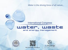 The 6th International Congress on Water, Waste and Energy Management