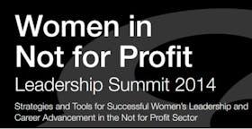 Women in Not for Profit Leadership Summit 2014
