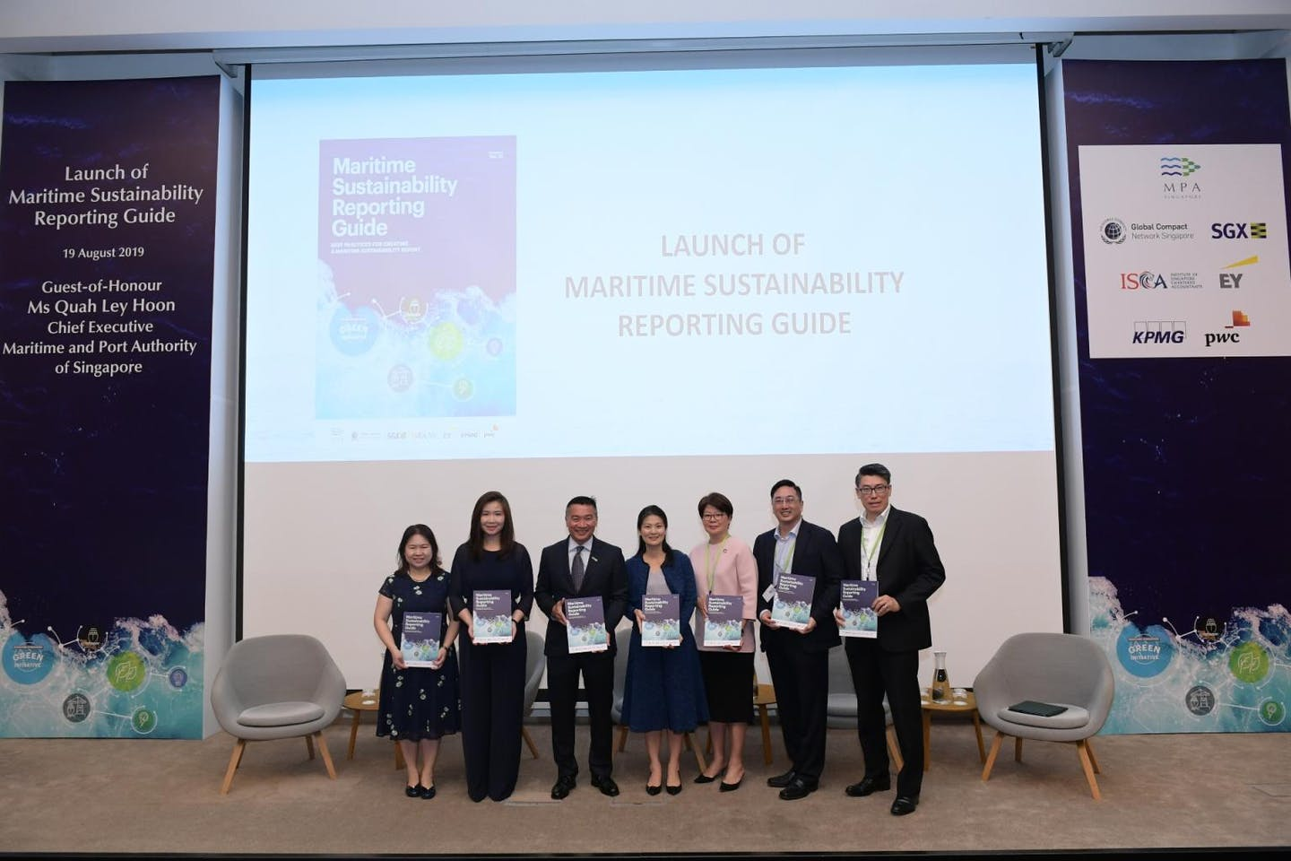 MPA launches Singapore's first Maritime Sustainability Reporting guide