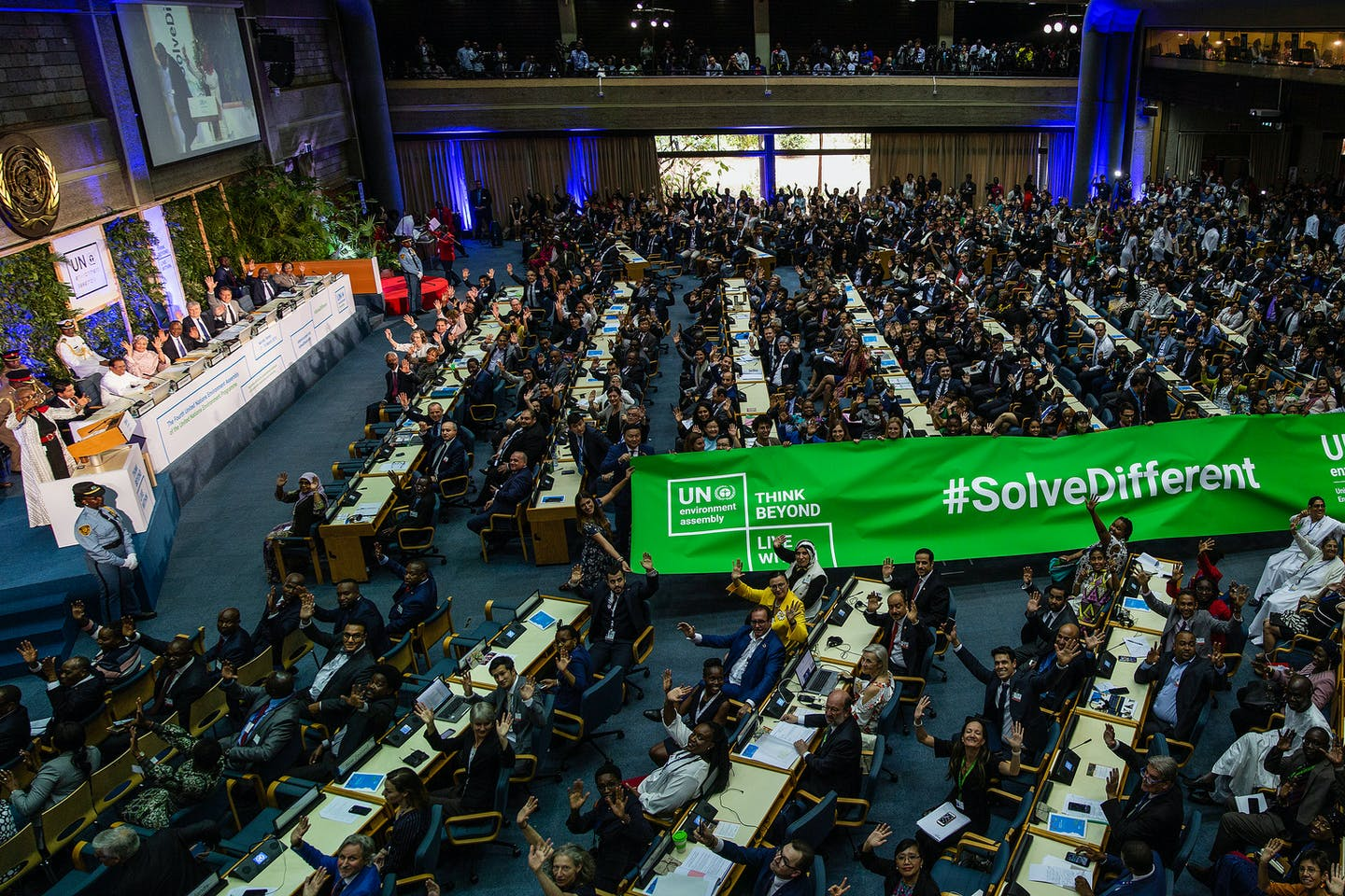 World pledges to protect polluted, degraded planet as it adopts blueprint for more sustainable future