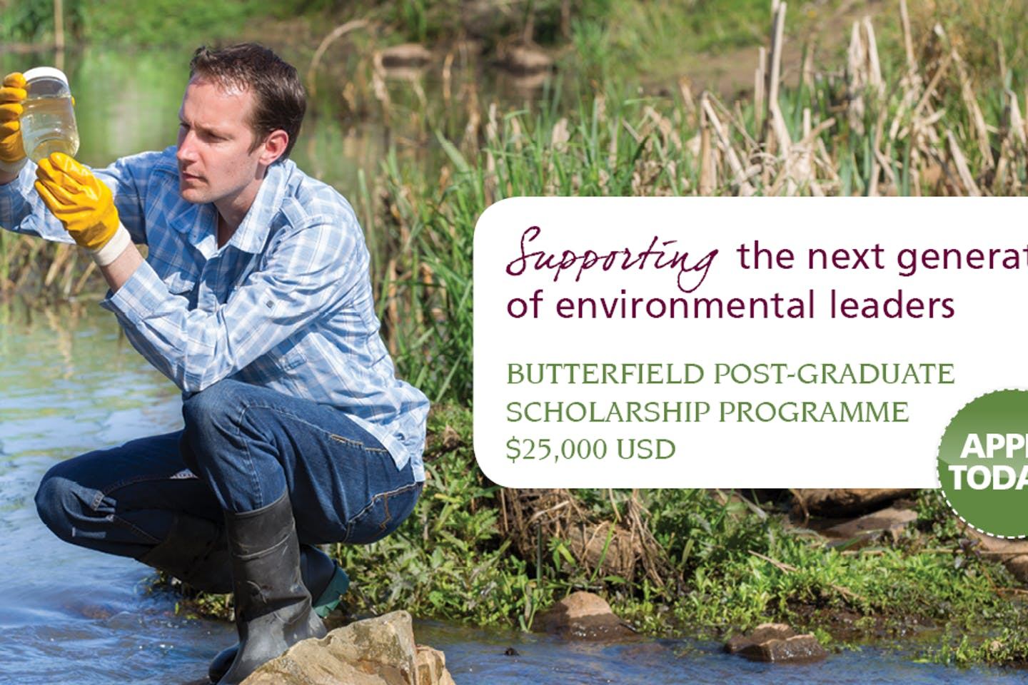 Butterfield expands scholarship to support next generation of environmental leaders to Singapore